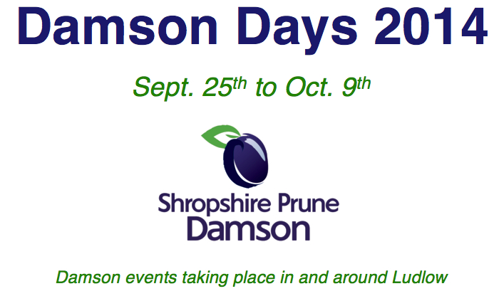 Celebration of damsons in 2014 in Shropshire image