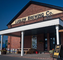 image of the brewery at the Ludlow Brewing Co, Shropshire
