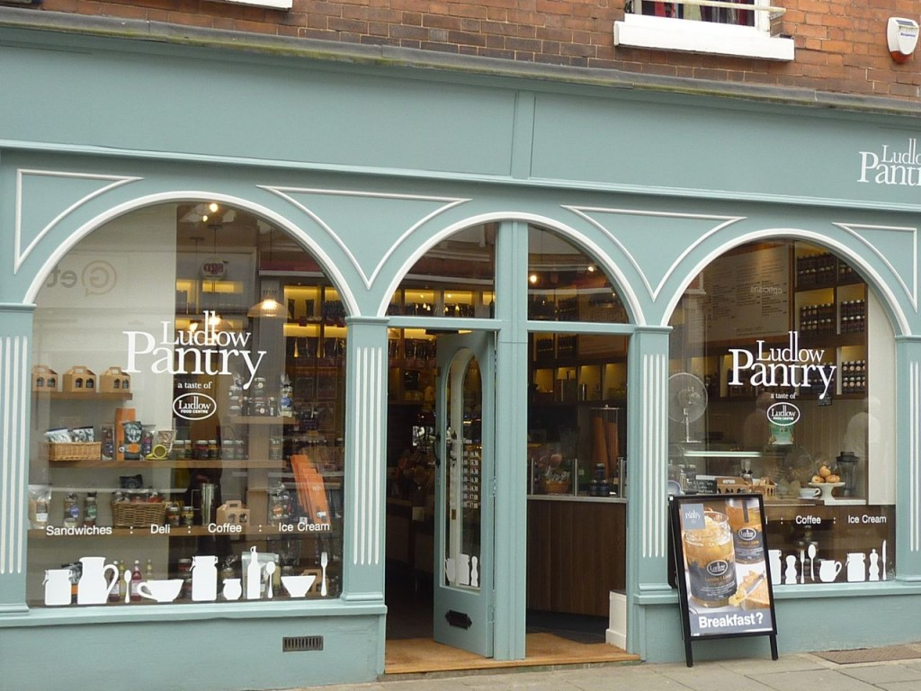 photo showing the exterior of the Ludlow Pantry