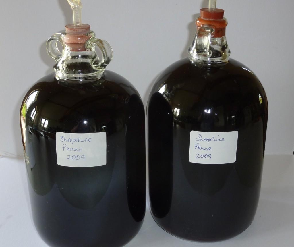Shropshire Prune Damson Wine. Wildly Delicious.